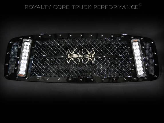 Royalty Core - Dodge Ram 1500 2002-2005 RCX Explosive Dual LED Grille