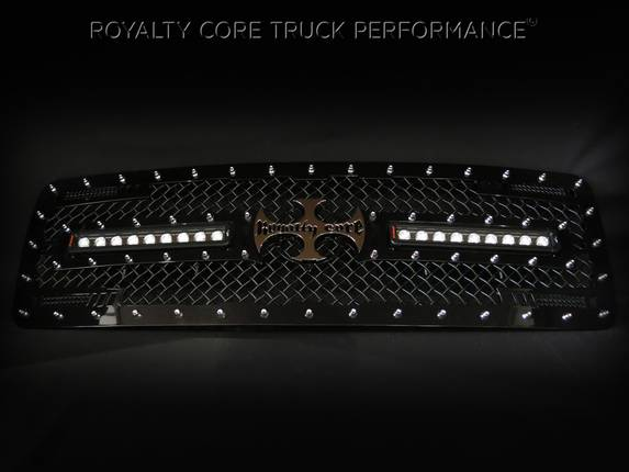 Royalty Core - Dodge Ram 1500 2002-2005 RC2X X-Treme Dual LED Grille