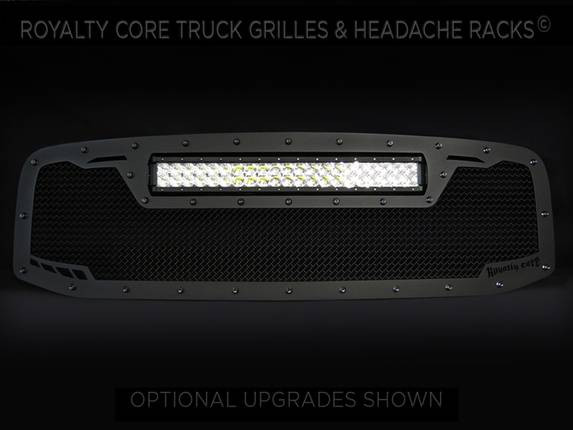 Royalty Core - DODGE RAM 1500 2006-2008 RCRX LED Race Line Grille-Top Mount LED