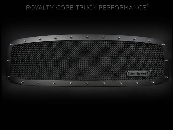 Royalty Core - Dodge Ram 2500/3500/4500 2006-2009 RCR Race Line Grille