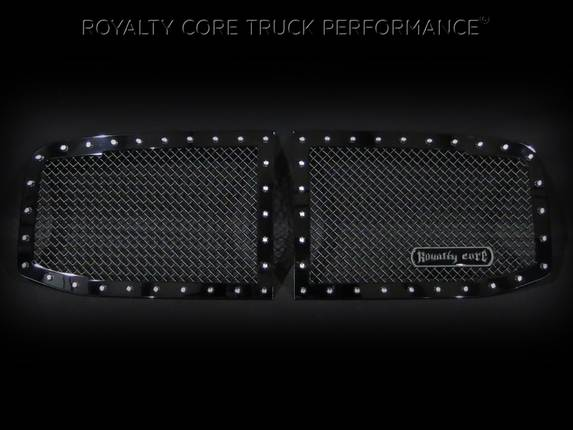Royalty Core - Dodge Ram 2500/3500/4500 2006-2009 RC1 Classic Grille 2 Piece