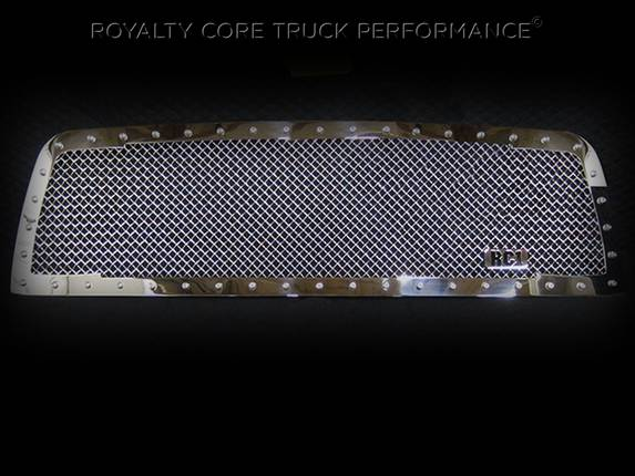 Royalty Core - Dodge Ram 2500/3500/4500 2010-2012 RC1 Classic Grille Chrome