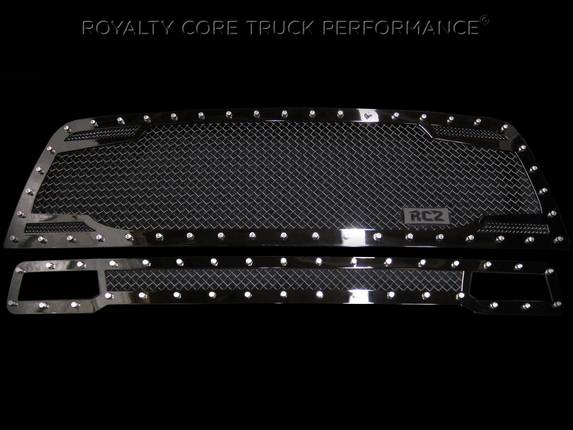 Royalty Core - Dodge Ram 2500/3500 2010-2012 RC2 Main Grille Twin Mesh & Bumper Grille Package