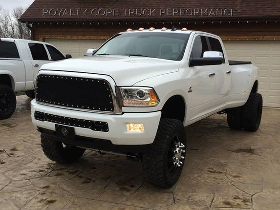 Royalty Core - Dodge Ram 2500/3500/ 2013-2017 RC2 Main Grille Twin Mesh & Bumper Grille Package