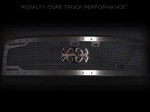 Royalty Core - Ford Raptor 2009-2015 RC2 Full Grille Replacement with Center Emblem