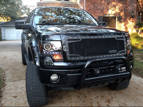 2012 F150 Grill >> Ford F 150 2009 2012 Rc2 Twin Mesh Grille