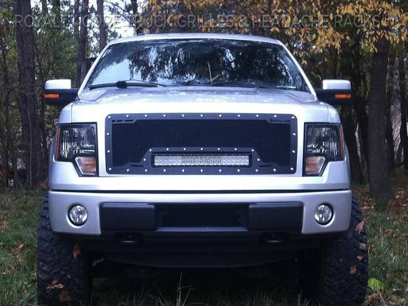 2012 F150 Grill >> Ford F 150 2009 2012 Rcrx Led Race Line Grille
