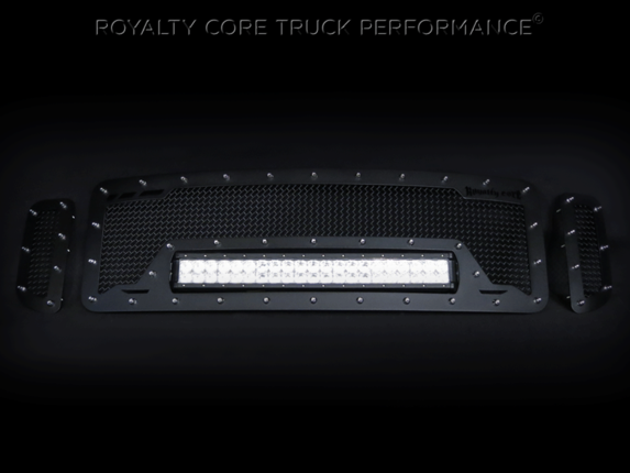 Royalty Core - Ford Super Duty 1999-2004 RCRX LED Race Line Grille