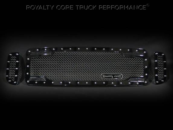 Royalty Core - Ford Super Duty 1999-2004 RC2 Twin Mesh 3 Piece Grille