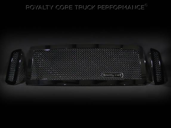 Royalty Core - Ford Super Duty 2005-2007 RC1 Main Grille 3 Piece No Studs-Smooth Look