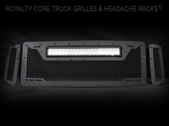 Royalty Core - Ford Super Duty 2005-2007 RCRX LED Race Line Grille-Top Mount LED