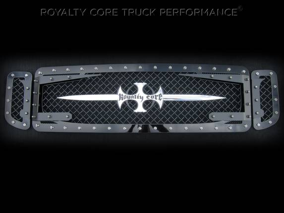 Royalty Core - Ford Super Duty 2005-2007 RC3DX Innovative Grille