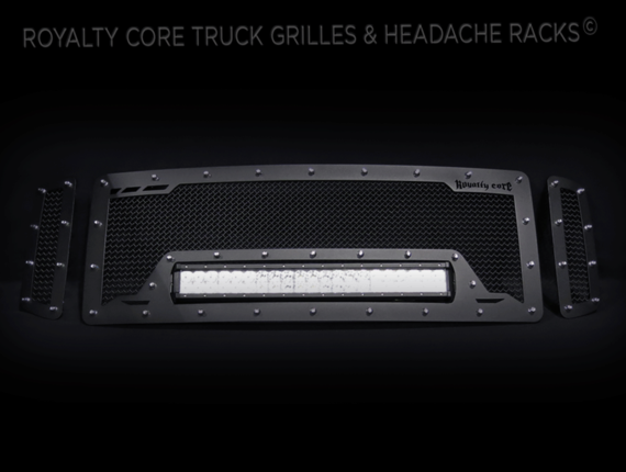 Royalty Core - Ford Super Duty 2008-2010 RCRX LED Race Line Grille