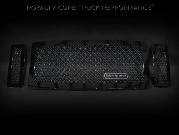 Royalty Core - Ford SuperDuty 2008-2010 RC1 Main Grille 3 Piece No Studs-Smooth Look