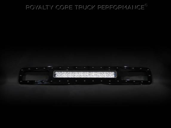 "Royalty Core - Ford Super Duty 2011-2016 Bumper Grille with 22"" LED Bar"