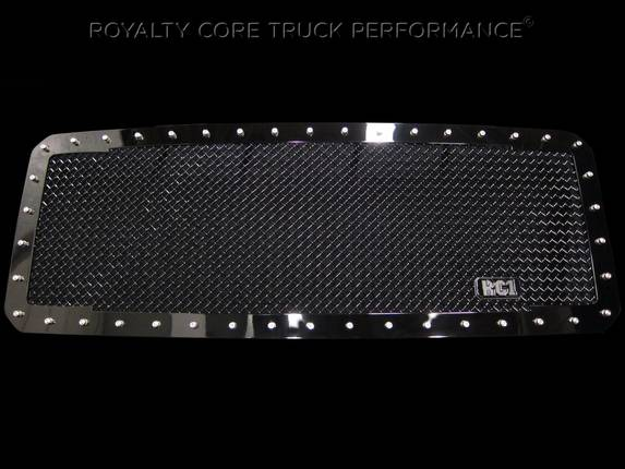 Royalty Core - Ford SuperDuty 2011-2016 RC1 Main Grille with Matching Bumper Grille Package
