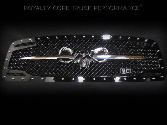 Royalty Core - Speared Goat Skull