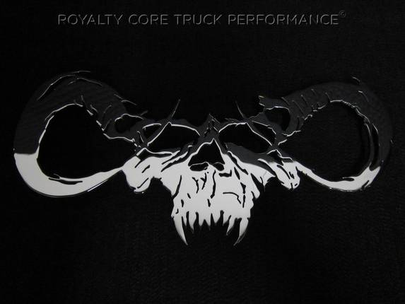 Royalty Core - Goat Skull Chrome