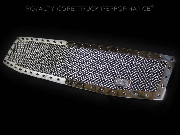 Royalty Core - Nissan Armada 2008-2016 Full Grille Replacement RC1 Classic Chrome