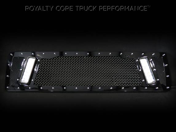 Royalty Core - GMC 4500/5500/6500/7500 2003-2009 Topkick Kodiak RCX Explosive Dual LED Grille