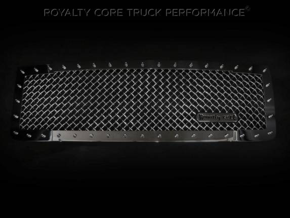 Royalty Core - GMC Sierra HD 2500/3500 2015-2019 RC1 Classic Grille Chrome