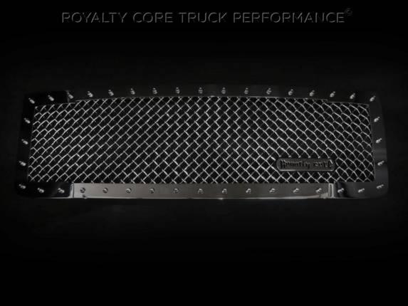 Royalty Core - GMC Sierra HD 2500/3500 2015-2017 RC1 Classic Grille Chrome