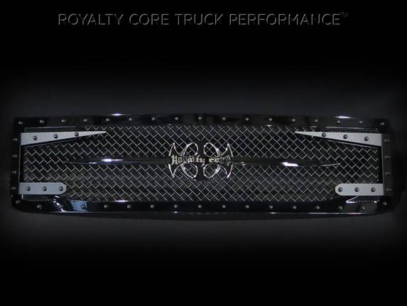 Royalty Core - Chevrolet 1500 2014-2015 RC3DX Innovative Grille