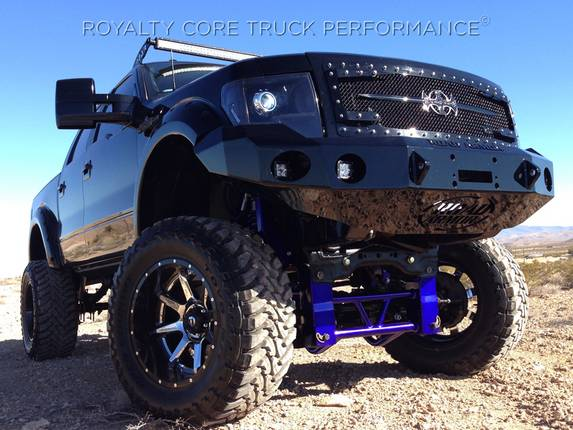 Royalty Core - Ford F-150 2013-2014 RC3DX Main Grille Gloss Black W/Black Sword Assembly