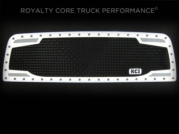 Royalty Core - Chevrolet 2500/3500 2007-2010 RC2 Full Grille Replacement Factory Color Match
