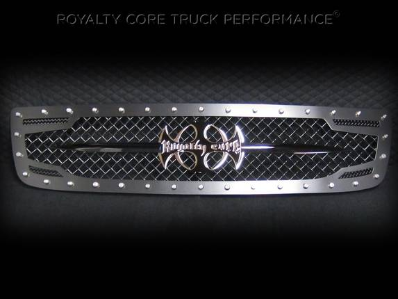 Royalty Core - GMC Sierra 2500/3500 HD 2003-2006 RC2 Main Grille with 5.0 Super Mesh