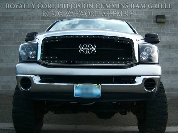 Royalty Core - Dodge Ram 2500/3500 2003-2005 RC3DX Innovative Main Grille
