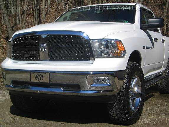 Royalty Core - Dodge Ram 1500 2009-2012 RC3DX Innovative Main Grille with Split Sword Assembly