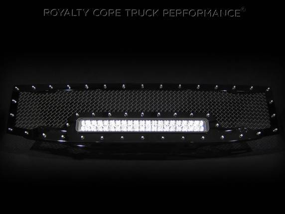 Royalty Core - Nissan Titan 2004-2015 Full Replacement RC1X Incredible LED Grille