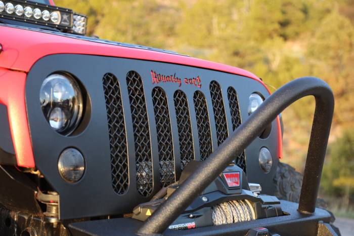 Royalty Core - Jeep Wrangler 2007-2016 RCJK Grille Replacement Satin Black