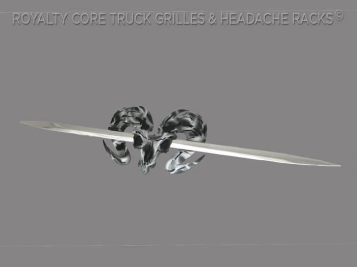 Royalty Core - Speared Ram Skull