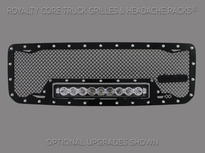 Royalty Core - GMC Sierra 1500, Denali, & All Terrain 2014-2015 RC1X Incredible LED Grille