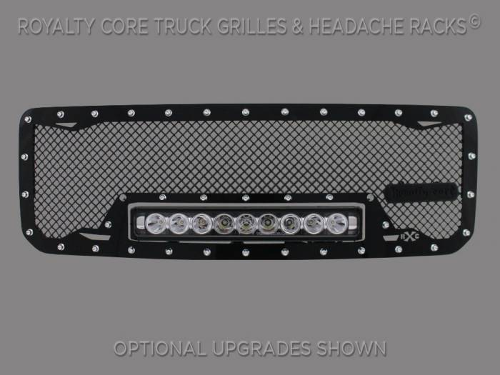Royalty Core - GMC Sierra HD 2500/3500 2007-2010 RC1X Incredible LED Grille