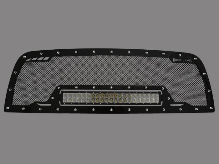 Royalty Core - DODGE RAM 2500/3500/4500 2013-2017 RCRX LED Race Line Grille*STOCK*