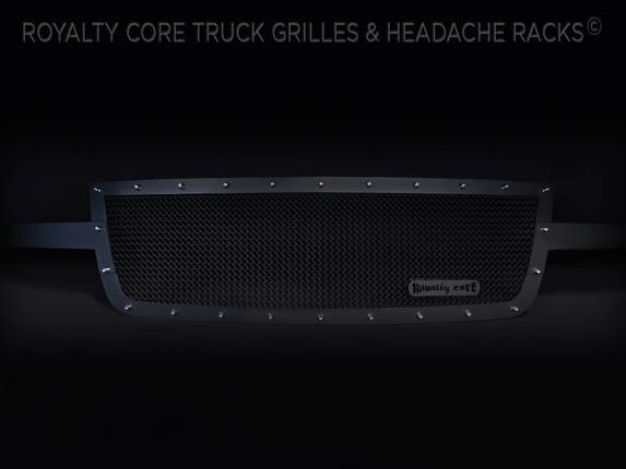 Royalty Core - Chevrolet 1500 2006-2007 Full Grille Replacement RCR Race Line Grille