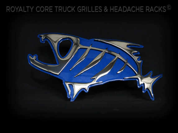 Royalty Core - Skeleton Fish Chrome and Blue