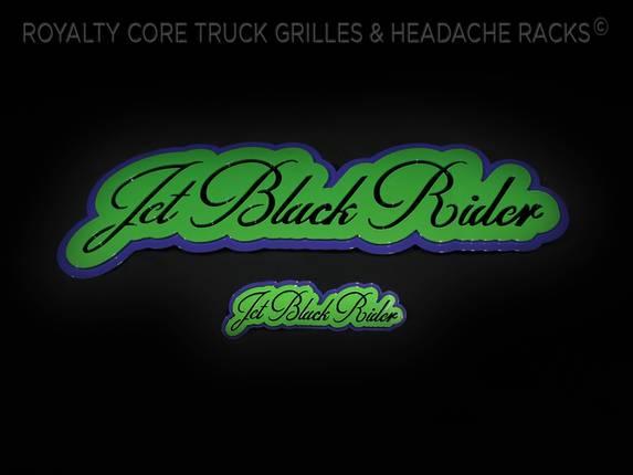 Royalty Core - Jet Black Rider Emblem