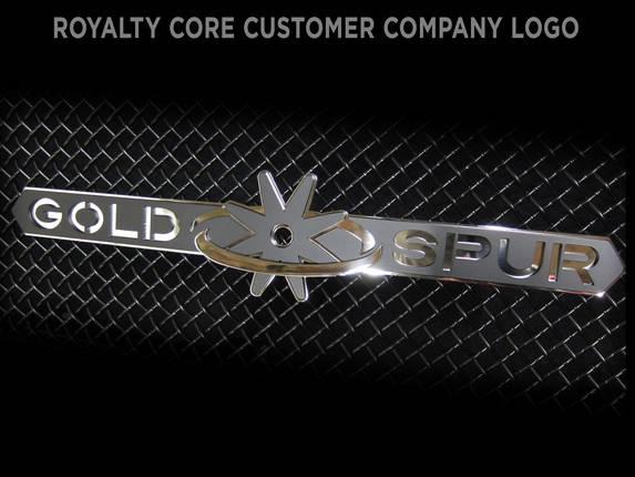 Royalty Core - Gold Spur Emblem