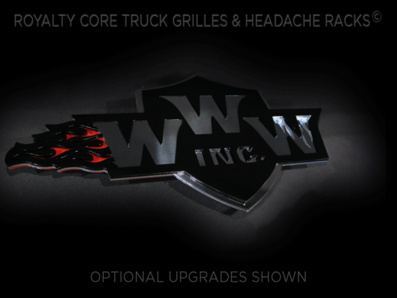 Royalty Core - Www Custom Logo Fire And Ice