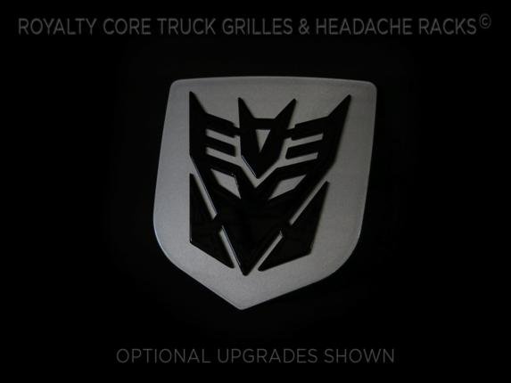 Royalty Core - Decepticon Tailgate Emblem