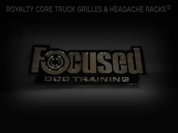 Royalty Core - Custom Focused Dog Training Emblem