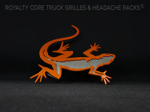 Royalty Core - Orange Lizard Emblem