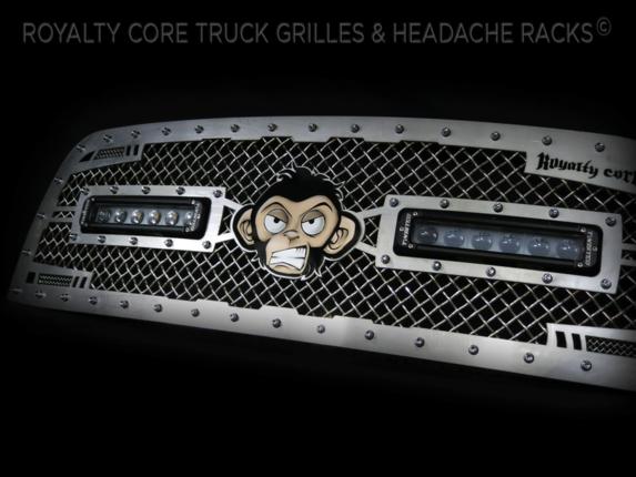 Royalty Core - Custom Airbrushed Monkey Logo