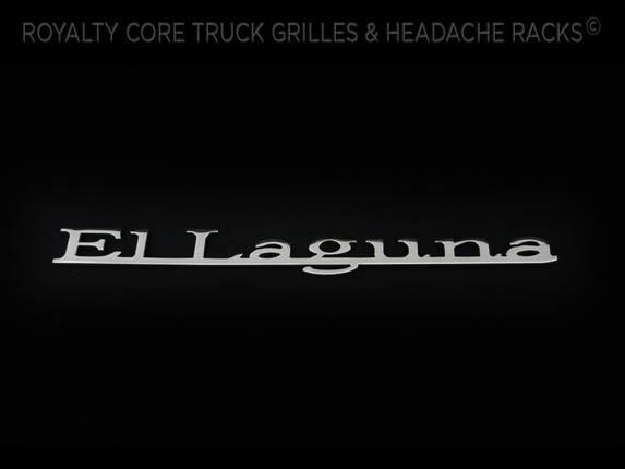 Royalty Core - El Laguna Emblem With Chrome Finish