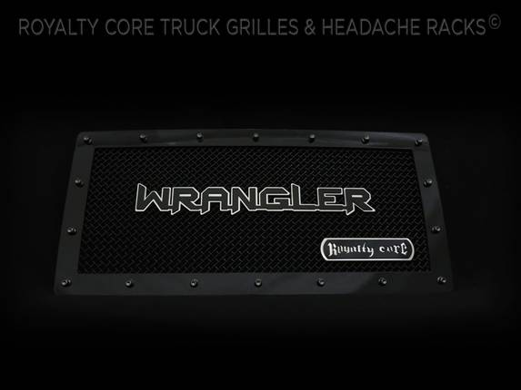 Royalty Core - Custom Wrangler Lettering Logo