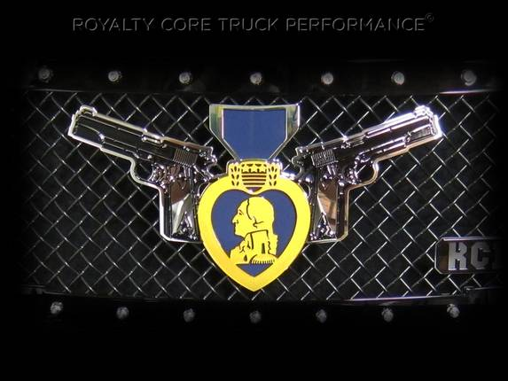 Royalty Core - Purple Heart With Colt